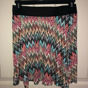 American Rag patterned skirt